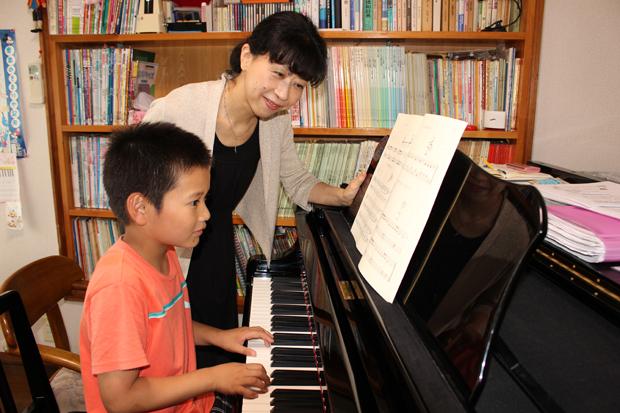 どうしてピアノを習わせたいと思いましたか?