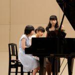 ピアノ発表会の画像★アンサンブルで楽しく(^o^)丿その1