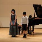 ピアノ発表会の画像★アンサンブルで楽しく(^o^)丿その2
