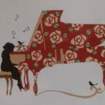 大人のピアノ楽しんでいます(^o^)丿
