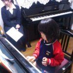 「ピアノが好きだよ」( *´艸`)