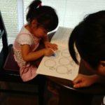 2歳11ヶ月uちゃんのレッスン(*^^)v