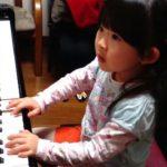 ちびっこピアノの画像に思わず笑顔・・(^o^)丿