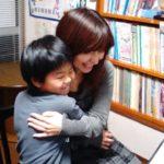 連弾後は、大好きなママとむぎゅう~(#^.^#)