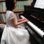 ピアノ女子はドレスでワクワク発表会(^o^)丿