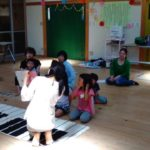 ピアノがリトミックレッスンとの併用で益々上達(#^.^#)♪