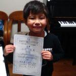 雪もへっちゃら!元気いっぱいピアノ楽しんでいます(^^)v