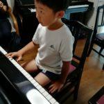 ピアノレッスンチケットをお姑さんにプレゼント☆
