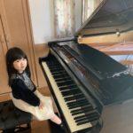 お家にグランドピアノがやって来た♪\(^o^)/