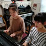 ピアノ大好き!!発表会に向けて頑張っています☆ぱあと4