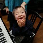 ピアノで笑顔♪(*^▽^*)♪