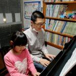 ピアノ大好き♪生徒ちゃんの笑顔に感謝♪(#^.^#)
