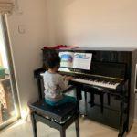 我が家にピアノがやって来た\(^o^)/