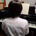 受験とピアノ♪