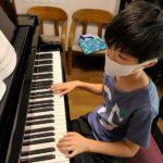 ピアノの上達と子どもの成長