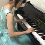 YouTubeで「動画提出型ステップ」に参加した生徒ちゃん(^^)v