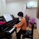 受験生、ピアノでリフレッシュ(^^)v