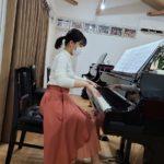 ピアノ大好き♪頑張っています!