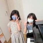 ピアノ教室つながりのお友達・・(*^-^*)