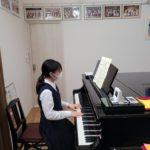 定期試験中は、ピアノでリフレッシュ(^^)v
