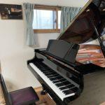 グランドピアノに買い換えました!(#^.^#)