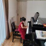 夏休みも楽しくピアノ☆生徒ちゃん、やる気満々!