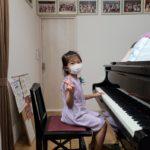 この夏、みんな元気にピアノに向かったねっ!