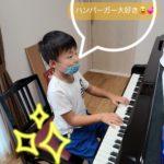 ピアノで元気!一緒に前進!!(^_-)-☆
